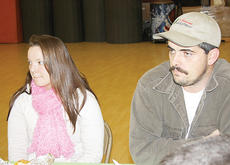 """<div class=""""source""""></div><div class=""""image-desc"""">Tim Morris and Danielle Roetker enjoy breakfast at the event.</div><div class=""""buy-pic""""><a href=""""/photo_select/8884"""">Buy this photo</a></div>"""