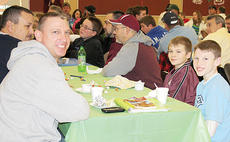 """<div class=""""source""""></div><div class=""""image-desc"""">Brian Young and Kirby Young share breakfast with Robin Cobb and Grant Cobb.</div><div class=""""buy-pic""""><a href=""""/photo_select/8885"""">Buy this photo</a></div>"""