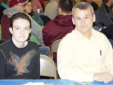 """<div class=""""source""""></div><div class=""""image-desc"""">Mike and Alex Cobb attended the event together.</div><div class=""""buy-pic""""><a href=""""/photo_select/8889"""">Buy this photo</a></div>"""