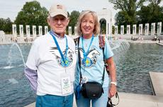 """<div class=""""source"""">Courtesy of Owen Electric</div><div class=""""image-desc"""">Owen County's George Dunavent, left, was accompanied by his eldest daughter Janna Fitzwater on the Honor Flight and took in some of the sites of Washington, D.C.</div><div class=""""buy-pic""""><a href=""""/photo_select/8220"""">Buy this photo</a></div>"""