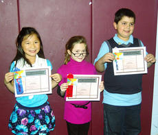"""<div class=""""source""""></div><div class=""""image-desc"""">The second-grade winners were Mary Gamm, Lilly David and Gregory Webster.</div><div class=""""buy-pic""""><a href=""""/photo_select/4379"""">Buy this photo</a></div>"""