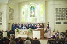 "<div class=""source"">Ernie Stamper</div><div class=""image-desc"">Combined service, St. Paul AME and First UM, Lexington, 17 Feb 2013 </div><div class=""buy-pic""></div>"