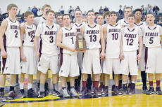 """<div class=""""source"""">Brian Blair </div><div class=""""image-desc"""">unty High School Runnin' Rebels show off their trophy as 31st District Tournament champions.</div><div class=""""buy-pic""""><a href=""""/photo_select/8976"""">Buy this photo</a></div>"""