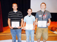 """<div class=""""source""""></div><div class=""""image-desc"""">Three Owen County High School basketball players were named to the KHSAA First Team Academic All State squad. Pictured are Carson Williams, Tucker Trenary and Justin Shelton.</div><div class=""""buy-pic""""><a href=""""/photo_select/7291"""">Buy this photo</a></div>"""