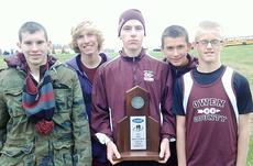 """<div class=""""source""""></div><div class=""""image-desc"""">Kyle Flood, Cory Hudnall, Hunter Trenary, Logan Bitler and  Keith Stout show off region runner-up trophy. </div><div class=""""buy-pic""""><a href=""""/photo_select/8388"""">Buy this photo</a></div>"""