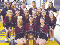 """<div class=""""source"""">Brian Blair </div><div class=""""image-desc"""">The Owen County High School cheerleaders placed third Saturday in the first KHSAA Competitive Cheer State Competition. The girls participated in the Class A Small Division. In all, there were 12 regions competing in the division. These cheerleaders include Kaity Smith, Hannah Strohmeier, Ashley Smith, Kayleigh Shaw, Kristen Myrga, Paula Rivera, Kri Tuttle, Tayler Johnson, Jessica O'Connor, Savanna Trautwein, Marlee Lathrem, Audrey Hager, Brooke Lancaster and Jodie Ransdell. They are coached by Jenna Gray and Sarah Gibson. </div><div class=""""buy-pic""""><a href=""""/photo_select/8981"""">Buy this photo</a></div>"""
