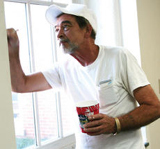 """<div class=""""source""""></div><div class=""""image-desc"""">Charlie Chandler paints near a window in the old circuit clerk's office at the Owen County Courthouse. All offices located in the courthouse will remain at the facility, with a few changes. Chandler said he has painted for 38 years and has painted nearly every room in the courthouse at one time or another.</div><div class=""""buy-pic""""><a href=""""http://web2.lcni5.com/cgi-bin/c2newbuyphoto.cgi?pub=033&orig=Courthouse2.jpg"""" target=""""_new"""">Buy this photo</a></div>"""