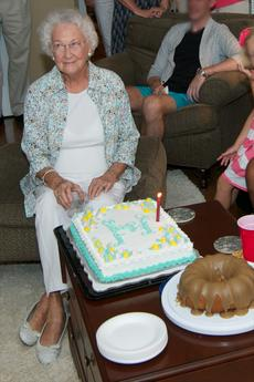 "<div class=""source"">Ernie Stamper</div><div class=""image-desc"">Cousin Emily McCaw's 90th birthday </div><div class=""buy-pic""></div>"
