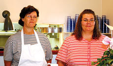 """<div class=""""source""""></div><div class=""""image-desc"""">Betty and Trisha Richardson jumped at the chance to open their own restaurant in Owenton. The two Owen County natives began working together as Your Menu Catering before opening the Farmhouse Grill earlier this year.</div><div class=""""buy-pic""""><a href=""""/photo_select/1307"""">Buy this photo</a></div>"""