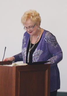 "<div class=""source"">Molly Haines </div><div class=""image-desc"">Author and News-Herald columnist Georgia Green-Stamper read selections from her newest book, ""Butter In the Morning"" at the Owen County Public Library Saturday.</div><div class=""buy-pic""><a href=""http://web2.lcni5.com/cgi-bin/c2newbuyphoto.cgi?pub=033&orig=Georgia1.jpg"" target=""_new"">Buy this photo</a></div>"