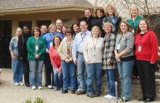 """<div class=""""source""""></div><div class=""""image-desc"""">The staff of the Frankfort location of Hospice of the Bluegrass stand outside the new facility at 663 Teton Trail in Frankfort. The new campus offers many new features including a mural of the four seasons, a fountain and a children's art center. </div><div class=""""buy-pic""""><a href=""""http://web2.lcni5.com/cgi-bin/c2newbuyphoto.cgi?pub=033&orig=Group-Pic-Small-1.jpg"""" target=""""_new"""">Buy this photo</a></div>"""