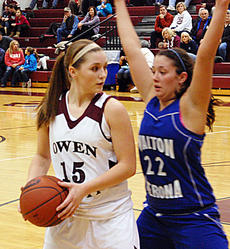 "<div class=""source""></div><div class=""image-desc"">Owen County's Hannah Neeley looks past a Walton-Verona defender during a game last week. The Lady Rebels' victory snapped a five-game losing streak to the Lady Bearcats, dating back to 2009.</div><div class=""buy-pic""><a href=""http://web2.lcni5.com/cgi-bin/c2newbuyphoto.cgi?pub=033&orig=Hoops2010-089.jpg"" target=""_new"">Buy this photo</a></div>"