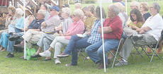 """<div class=""""source"""">Photo by Molly Haines</div><div class=""""image-desc"""">A little over 100 people attended Kentucky River Day, sponsored by the Owen County Historical Society and Kentucky-American Water Saturday. Some of Saturdays visitors listen to the event's guest speakers. </div><div class=""""buy-pic""""><a href=""""/photo_select/10287"""">Buy this photo</a></div>"""