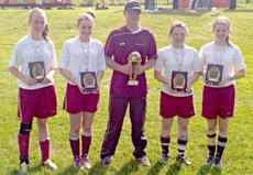 "<div class=""source""></div><div class=""image-desc"">Four members of the Owen County squad were named to the all-tournament team. Pictured are (from left to right) Destinee Epperson, Marlee Lathrem, Coach Scotty Chappell, Jodie Ransdell, and Hailey Chappell. </div><div class=""buy-pic""><a href=""/photo_select/9533"">Buy this photo</a></div>"