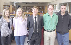 """<div class=""""source""""></div><div class=""""image-desc"""">The winners of the Owenton Rotary Club's annual speech contest were (from left to right) Ashton Marcum, Miranda Mason, Bernie Engelman, Mitchell Griffin and Marcus Branch.</div><div class=""""buy-pic""""><a href=""""/photo_select/9686"""">Buy this photo</a></div>"""