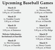 """<div class=""""source"""">Graphic by Jacob Blair/The News-Herald</div><div class=""""image-desc""""><center>March 2016 Rebels baseball schedule</center></div><div class=""""buy-pic""""></div>"""