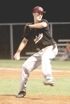 """<div class=""""source"""">Photo By Greg Wood</div><div class=""""image-desc"""">In the game against Henry County High School, Owen County's Jarrod Ball went 3-3 with two doubles, two runs scored and had an RBI.  He also pitched a complete game. </div><div class=""""buy-pic""""><a href=""""http://web2.lcni5.com/cgi-bin/c2newbuyphoto.cgi?pub=033&orig=boys-baseball-1.jpg"""" target=""""_new"""">Buy this photo</a></div>"""