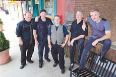 """<div class=""""source""""></div><div class=""""image-desc"""">Owen County native Dan Bourne, fourth from left, will bring his band Caught Red Handed to Elk Creek Winery this weekend. Also pictured  are fellow band members Todd Starns on bass guitar/vocals; Jimmy Calhoun, lead guitar/vocals/ percussion; John Stinnett - drummer/band manager; and Jack Kennedy - lead vocals/guitar/percussion. </div><div class=""""buy-pic""""><a href=""""http://web2.lcni5.com/cgi-bin/c2newbuyphoto.cgi?pub=033&orig=caught.jpg"""" target=""""_new"""">Buy this photo</a></div>"""