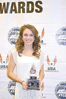 "<div class=""source""></div><div class=""image-desc"">Owen County native and graduate of Owen County High School graduate Danielle Hoop was recently awarded the Women's College Cross Country Athlete of the Year, the Women's College Track and Field Athlete of the Year, and the USATF Female Track and Field Athlete of the Year. </div><div class=""buy-pic""><a href=""/photo_select/11124"">Buy this photo</a></div>"