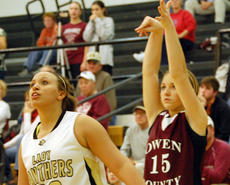 """<div class=""""source""""></div><div class=""""image-desc"""">Lady Rebel Hannah Neeley hits an important shot near the end of the Carroll County game.</div><div class=""""buy-pic""""><a href=""""/photo_select/2278"""">Buy this photo</a></div>"""