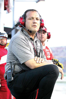 """<div class=""""source"""">Photo by Will Hearne</div><div class=""""image-desc"""">Harvick's crew chief Greg Zipadelli</div><div class=""""buy-pic""""><a href=""""/photo_select/11950"""">Buy this photo</a></div>"""