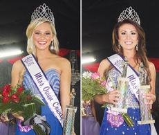 "<div class=""source"">Photos by Molly Haines</div><div class=""image-desc"">Savannah Stevens (left photo) was named Miss Owen County Fair and Brittany Clark (right photo) was named Miss Owen County Saturday night. </div><div class=""buy-pic""><a href=""http://web2.lcni5.com/cgi-bin/c2newbuyphoto.cgi?pub=033&orig=lead_5.jpg"" target=""_new"">Buy this photo</a></div>"