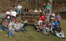 """<div class=""""source""""></div><div class=""""image-desc"""">Members of the Owen County gifted and talented program, along with chaperones and staff, recently visited the Pine Mountain Settlement School in Bledsoe. One of the main goals of the trip was to teach kids how the environment relates to other subjects.</div><div class=""""buy-pic""""><a href=""""/photo_select/4554"""">Buy this photo</a></div>"""