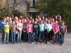 """<div class=""""source""""></div><div class=""""image-desc"""">Twenty three gifted and talented students and 13 chaperones from Owen County made their annual trip to Pine Mountain Settlement School in Bledsoe. While there, the students studied mountain culture, Appalachia, the environment and stewardship of natural lands and waterways.</div><div class=""""buy-pic""""><a href=""""/photo_select/11440"""">Buy this photo</a></div>"""