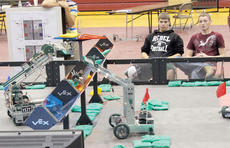 """<div class=""""source""""></div><div class=""""image-desc"""">Members of the Owen County High School Technology Students Association will host a robot competition Saturday featuring 25 teams. The robots and their designers will compete against other students from Kentucky and Ohio. </div><div class=""""buy-pic""""><a href=""""/photo_select/8904"""">Buy this photo</a></div>"""