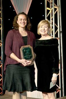 "<div class=""source""></div><div class=""image-desc"">Jennifer Banschbach, left, an LPN at Owenton Center, received the 2013 Kentucky Health Care Foundation Scholarship at the Kentucky Association of Health Care Facilities Annual Quality Awards Banquet Nov. 14. She was joined on stage with Debra Finneran of the Kentucky Health Care Foundation, right. </div><div class=""buy-pic""><a href=""/photo_select/10853"">Buy this photo</a></div>"