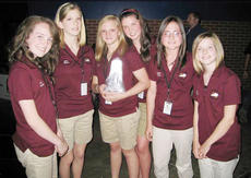 """<div class=""""source""""></div><div class=""""image-desc"""">The  """"Go Green to Save Green"""" showcase group included Jade Garnett, Ashton Marcum, Kelsey Burke, Molly Gamble, Destiny Young and Hailey Chappell. </div><div class=""""buy-pic""""><a href=""""/photo_select/4947"""">Buy this photo</a></div>"""