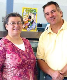 """<div class=""""source"""">Photo by Mary Alford</div><div class=""""image-desc"""">Ron and Claudette Howard of R and C Marts are the owners of Valero Gas Station in Owenton. Their store takes over the location of the former Amerimart. </div><div class=""""buy-pic""""><a href=""""/photo_select/9814"""">Buy this photo</a></div>"""