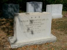 "<div class=""source"">©Arlington National Cemetery Website/photo by M. R. Patterson </div><div class=""image-desc"">Grave of Willis Augustus Lee Jr. in Arlington National Cemetery </div><div class=""buy-pic""></div>"