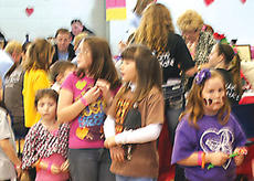 "<div class=""source"">Photo by John Whitlock</div><div class=""image-desc"">Kids wait in line to take a turn on an inflatable slide at the Feb. 8 CHD Awareness Walk,</div><div class=""buy-pic""><a href=""http://web2.lcni5.com/cgi-bin/c2newbuyphoto.cgi?pub=033&orig=walk-4.jpg"" target=""_new"">Buy this photo</a></div>"