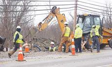 "<div class=""source"">Photo by Molly Haines</div><div class=""image-desc"">Crews with Kentucky American Water work to solve a waterline break along South Main Street in Owenton Jan. 15. </div><div class=""buy-pic""><a href=""/photo_select/11119"">Buy this photo</a></div>"