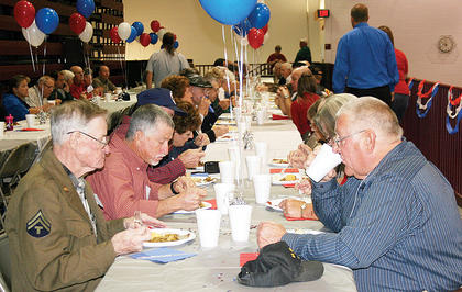 Owen County veterans were once again welcomed to the high school for a special recognition service in 2010.