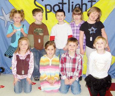Kindergarten Academic Excellence Award Winners