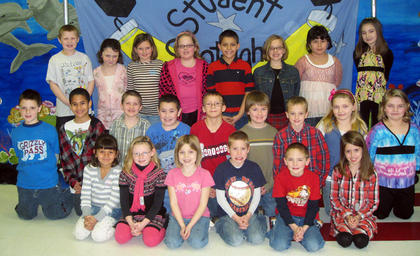 Second Grade Perfect Attendance Award Winners