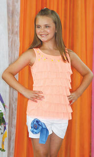 Alexandria Perry participated in the Miss Preteen pageant.
