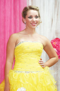 Alexis Copeland participated in the Miss Teen pageant.