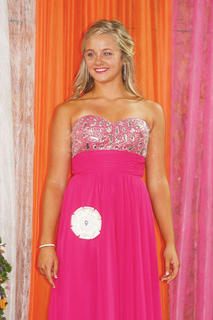 Kaylee Miller participated in the Miss Teen pageant.