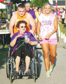 People from all generations took part in the Relay.