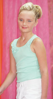 Sage Garnett participated in the Miss Preteen pageant.