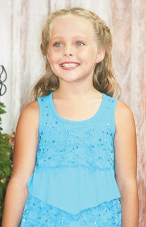 Savannah Boyce participated in the Miss Preteen pageant.