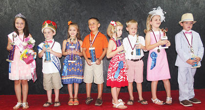 The winners of the 2014 Owen County Fair Little Miss and Mister Pageant were, Little Miss and Mister Kaileigh Gibson and Harper Duvall; first runners-up Gabrielle Perry and Christian Dempsey; second runners-up Abigayle Lilly and Bryson Tirey and people's choice Kylee Steffan and Aiden Bowling.