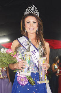 Brittany Clark was named Miss Owen County Saturday night.