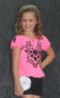 Brie Dunavent, Miss Pre-Teen contestant