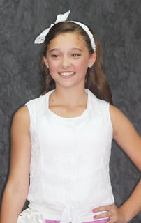 Kylee Robinson, Miss Pre-Teen contestant