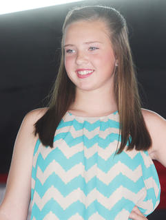 Paige Heuser, Miss Pre-Teen contestant