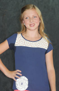 Madelin Brandt, Miss Pre-Teen contestant